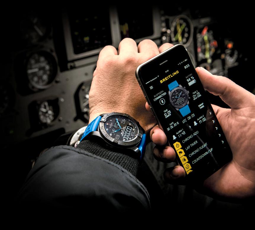 UhrenMaster.de: Breitling Exospace B55
